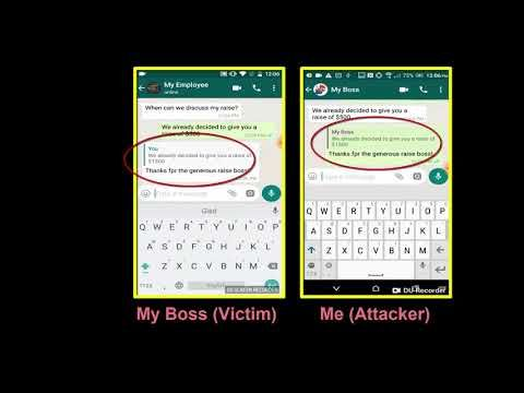 Think Whatsapp S Message Encryption Makes It Secure Think Again Here Are Several Ways Your Whatsapp Can Be Hacke Encrypted Messages Whatsapp Message Messages