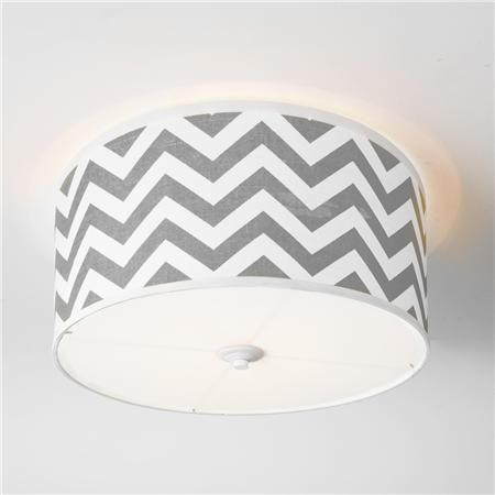 chevron shade ceiling light i like the gray baby room lighting ceiling