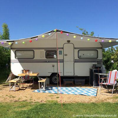 Urlaub im Wohnwagen - Von Praktischem und Schönem