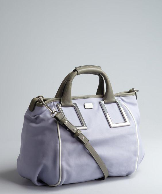 Chloe wisteria violet leather \u0026#39;Ethel\u0026#39; convertible tote | BLUEFLY ...