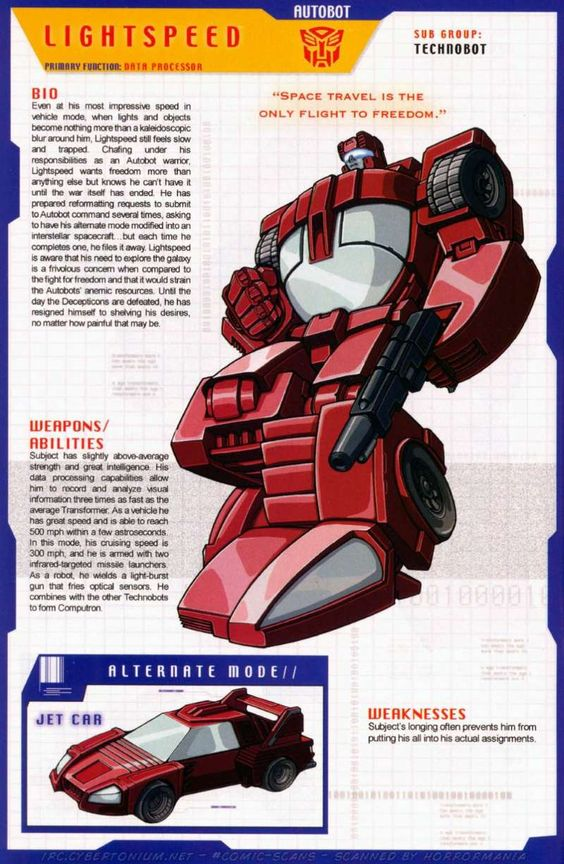 Transformers Universe - Gallery: G1 Technobots