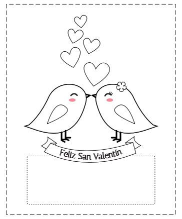 valentine's day printable borders