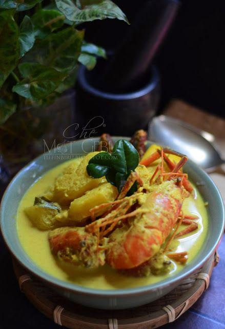 Resipi Masak Lemak Udang Nanas Dapur Tanpa Sempadan Resep Makanan Cina Resep Makanan Makanan Cina