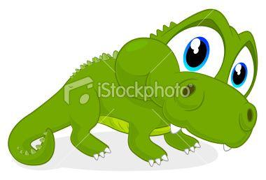 Crocodile Cartoon Royalty Free Stock Vector Art Illustration