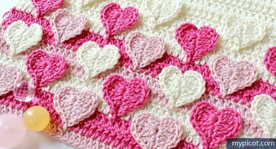 Örgü Kalpli Battaniye Yapılışı