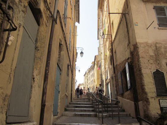 The streets of Marseilles