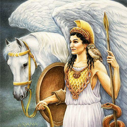 The Olympian Gods and Goddesses of Greek Mythology / Cira Car on ...