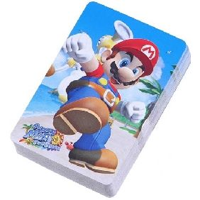 54 Different Super Mario Patterns Poker Card 54 Different Super Mario Patterns Poker Card [12614] - US$3.41 : Chinatownmart.com