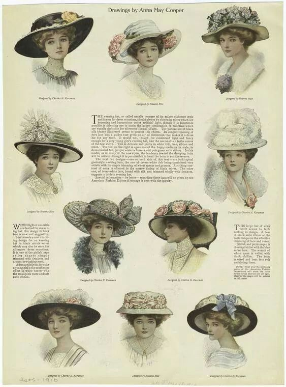 Hats ~ 1910s