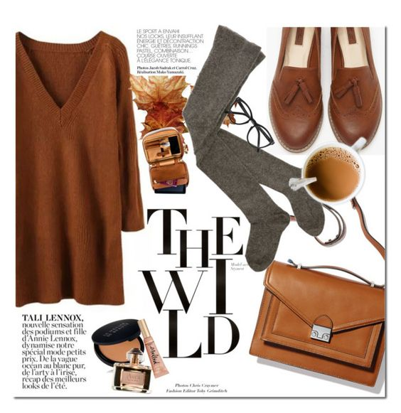 """""""The Wild Fall"""" by dian-lado ❤ liked on Polyvore featuring Loeffler Randall, Forever 21, Ash, Selima Optique, Le Métier de Beauté and Loewe"""