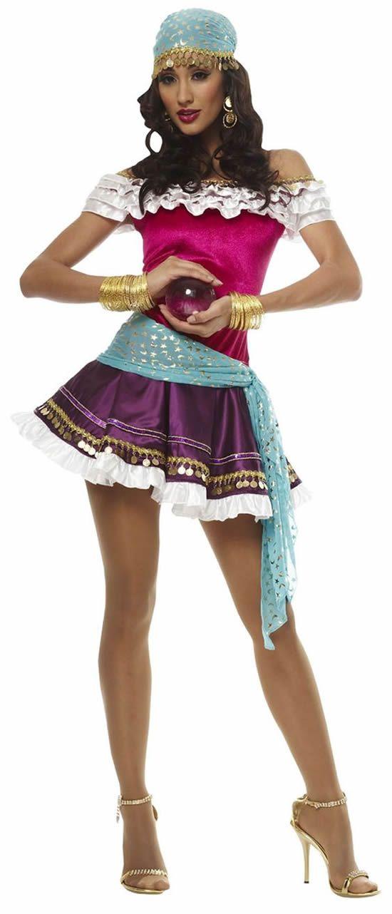 GAUZE PEASANT DRESS SPARTAN ADULT HALLOWEEN COSTUME WOMEN/'S SIZE SMALL//MEDIUM