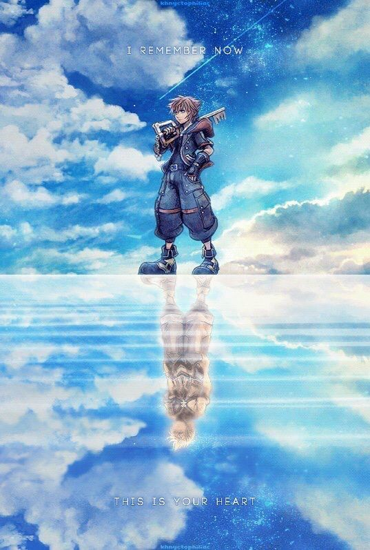 This Is Beautiful And Meaningful Kingdom Hearts Wallpaper Kingdom Hearts Art Kingdom Hearts Fanart