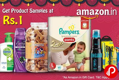 Amazon Value Bazaar celebrate Super Value Day 01, 02 on Every Month.  http://www.paisebachaoindia.com/get-product-samples-at-rs-1-amazon/