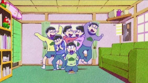 おそ松さんで好きなシーンの1つです。