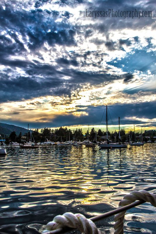 Vancouver Island, Salt Spring Island, Ocean, Sunset, Beautiful, Sailing, Laryssa's Photography, Oil Painting, Oil Painting Photography,