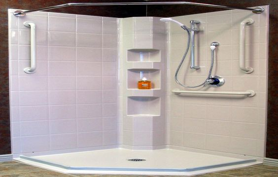 Shower pan installation, Modern and Showers on Pinterest