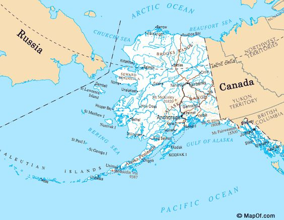 Alaska On World Map Pictures to Pin on Pinterest PinsDaddy