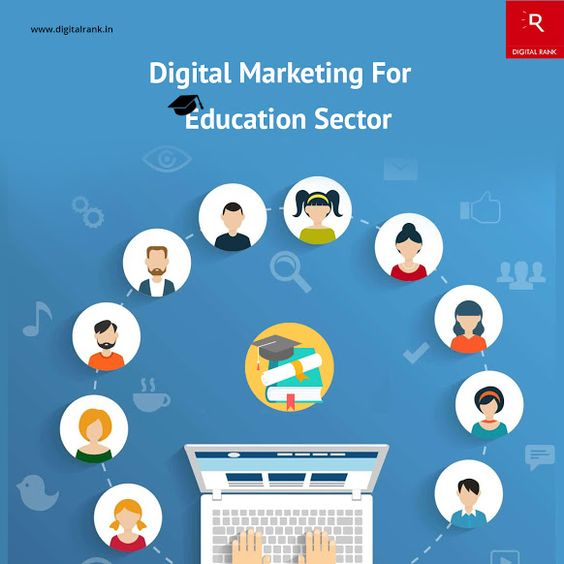 #DigitalMarketing in #Education  sector assists universities and institutions to build their brand and amplifies student recruitment process. Our Digital Marketing techniques to improve the visibility and success of your #Educationalinstitutes. www.digitalrank.in