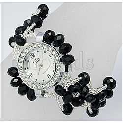 Glass Crystal Bracelets(BJEW-Q014-5-1)
