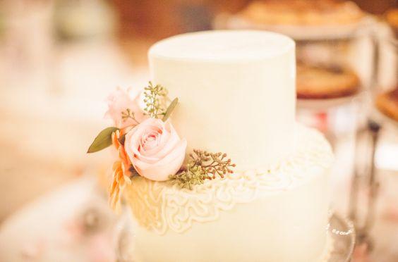 Small White Wedding Cake