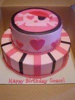 Grace's pirate cake