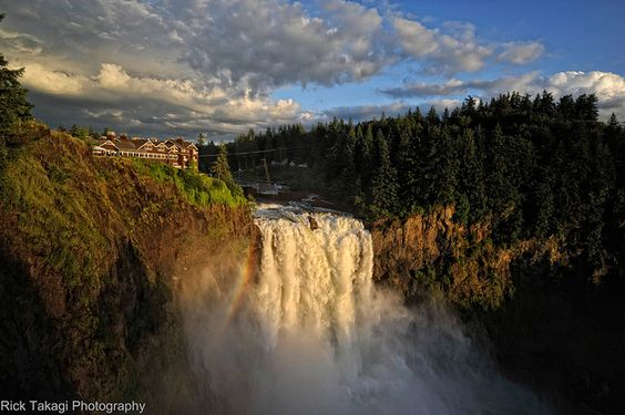 Snoqualmie Falls by Rick Takagi, via Flickr. The falls are incredible. The brunch on the weekends to die for. Indulge in a spa experience and stay at the hotel if you want to extend your time there past a day trip.