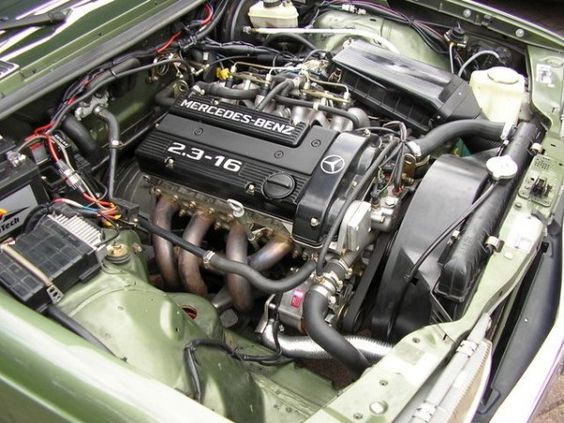 W123 with M102 2.3-16 Engine