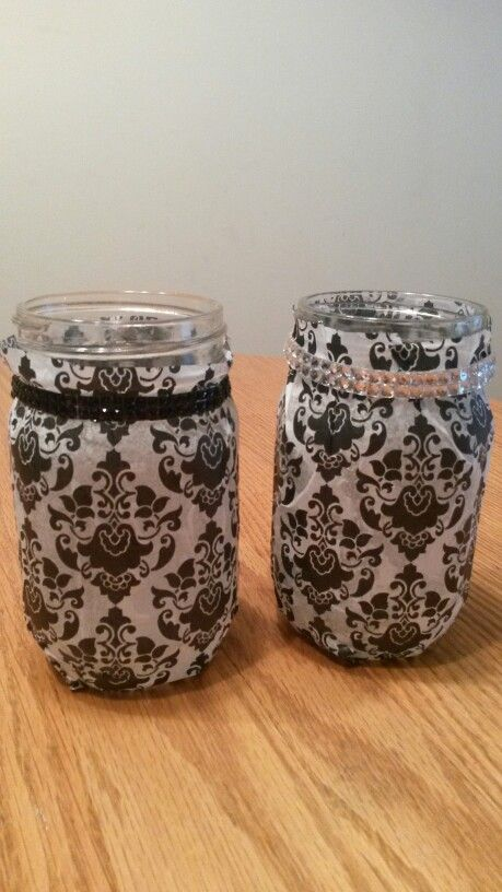 DIY  deocrative mason jars