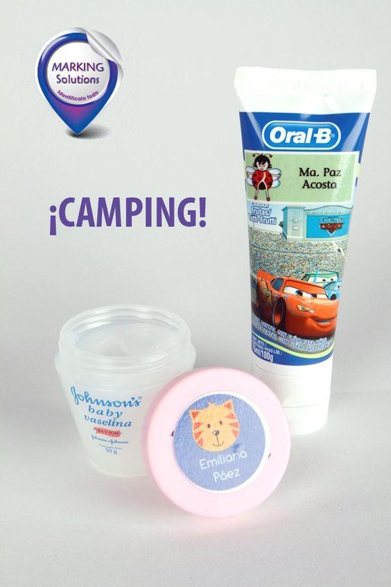 Lleva tus objetos a todo lugar. Campings, paseos, visitas a amigos y todo volverá a casa con mucho estilo.   Visítanos: www.markings.com.ec