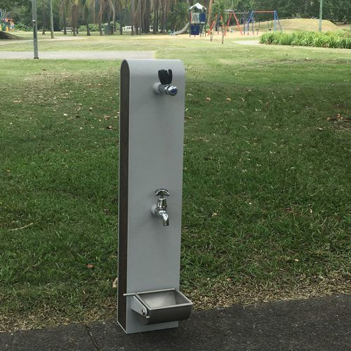 Drinking Station Bubbler With Dog Bowl Urban Fountains And Furniture Australia Backyard Projects Water Fountain Design Bubbler