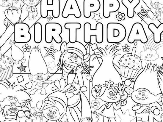 Free Printable Trolls World Tour Party Pack With Activity Coloring Pages Poppy Coloring Page Free Kids Coloring Pages Dance Coloring Pages