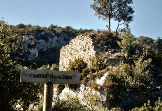 castillo almazorre - huesca - españa