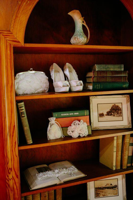 Vintage Wedding Photo.  Bride Essentials Larabee House.
