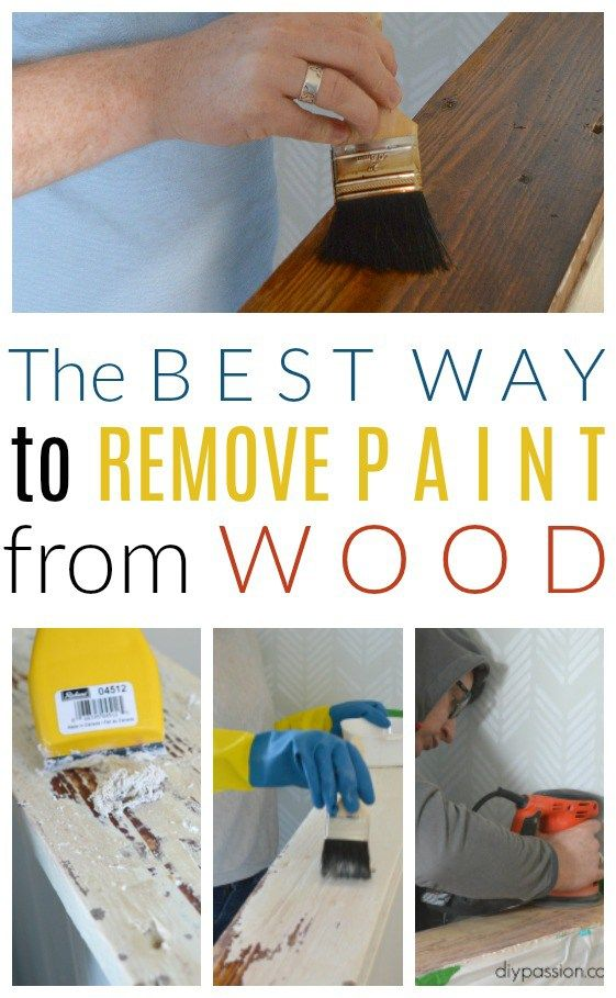 The Secret To Stripping Wood To Get The Reclaimed Look Paint