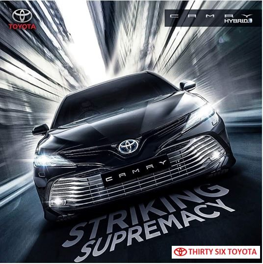 Toyota Camry Striking Supremacy Toyota Camry Camry Toyota Dealers