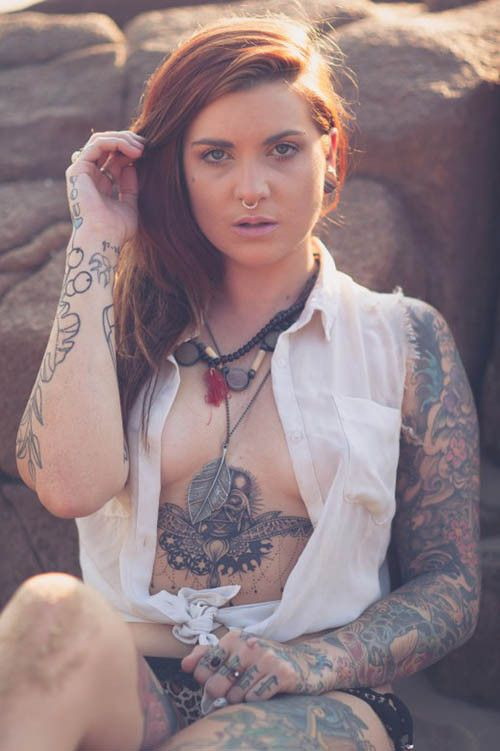 Sexy Tattooed Women | Inked Girls - Inked Magazine