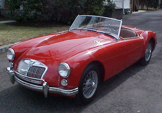 1960 MG Roadster. Future car.: