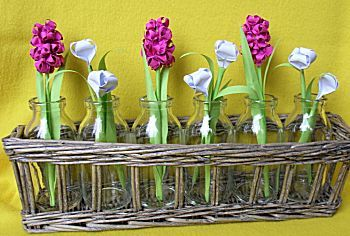 Hyacinten en Krokussen