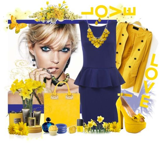 """""""Yellow"""" by scorpioncina86 ❤ liked on Polyvore"""
