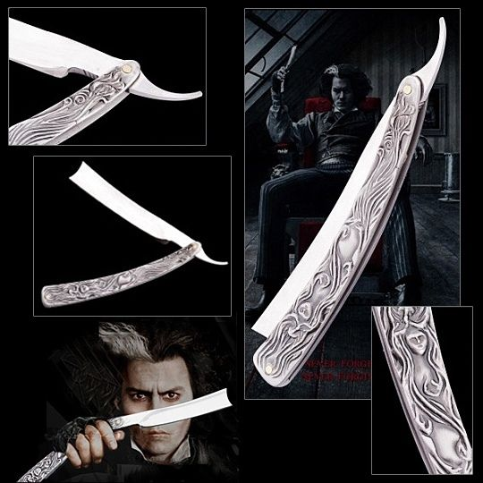 Pinterest the world s catalog of ideas for Sweeney todd tattoo