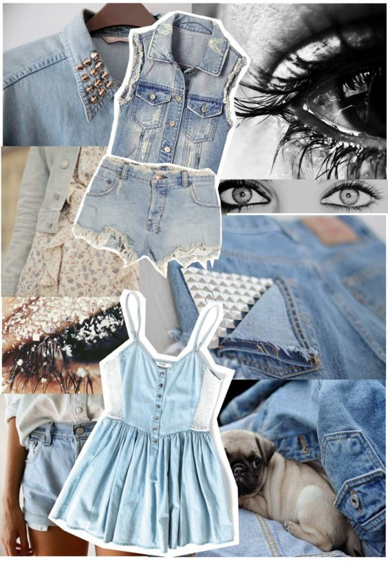 """""""DeniM!!❤"""" by aylo20101 ❤ liked on Polyvore"""