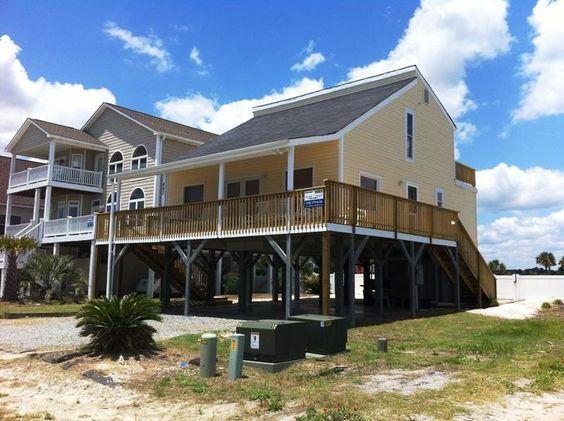 Ocean Isle Beach House Rentals: 443E3 - Ocean View House rental