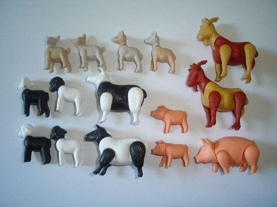 Details About Kinder Surprise Set Farm Animals 2001