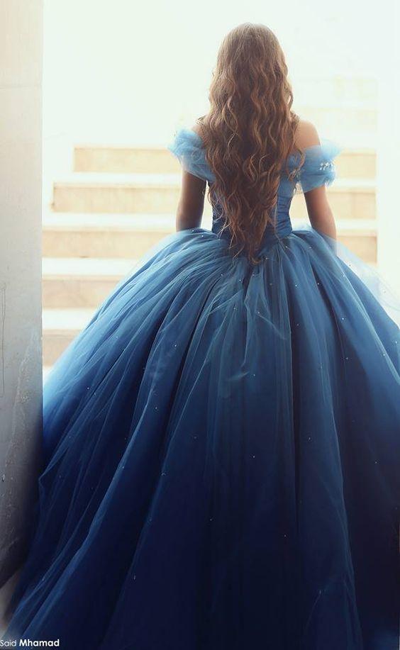vestido vestidos pinterest beautiful vestidos de novia de color azul y inspiraci n. Black Bedroom Furniture Sets. Home Design Ideas