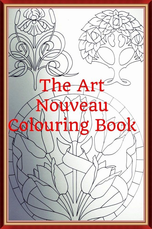 Art Nouveau Coloring Book Fresh The Art Nouveau Colouring Book By Judy Balchin Colour With In 2021 Art Nouveau Coloring Books Art