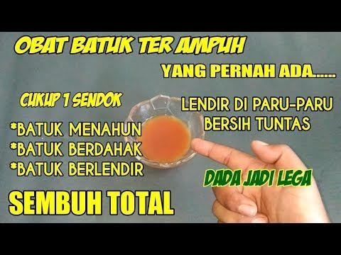 Batuk Menahun Sembuh Seketika Lendir Di Paru Paru Bersih Total Dengan Ini Bhonten Official Youtube Obat Alami Minuman Detoks Paru Paru