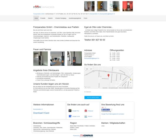 Füürparadies GmbH, Pratteln,  Basel-Landschaft, Cheminée, Ofen, Kamin
