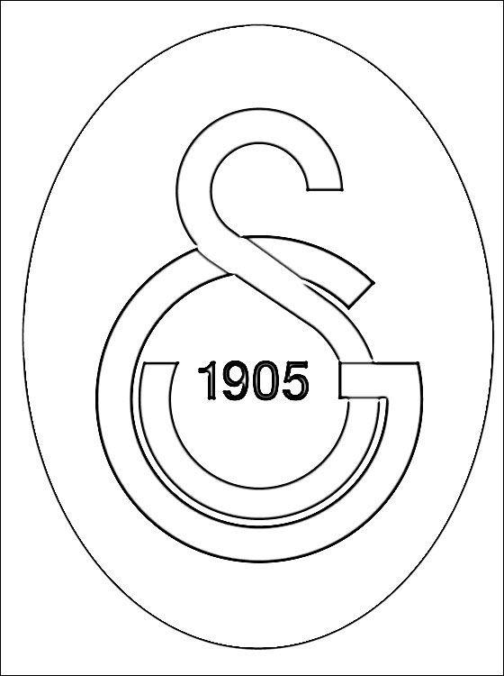 Galatasaray Boyamali Logo Ile Ilgili Gorsel Sonucu Boyama