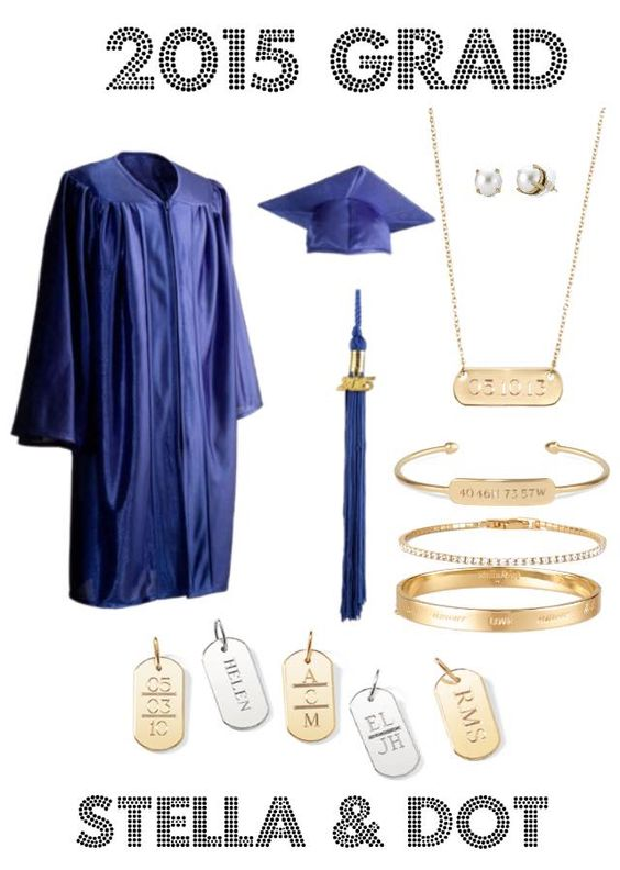 Personalize some gifts for your favorite grad with Stella & Dot