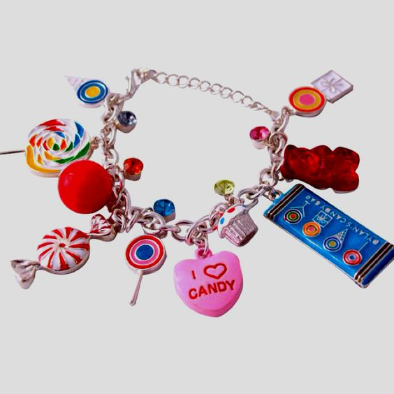 Charm Bracelet from Dylan's Candy Bar...WANT!
